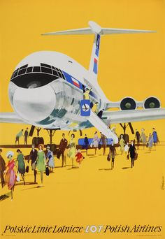 Janusz Grabianski, LOT Polish Airlines, 1975