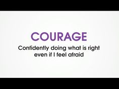 (B1) Courage - Character Trades. Games to teach kids good character traits. - YouTube