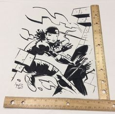 Scott Morse Original Sketch Elektra from Marvel Comics' Daredevil 2003  | eBay