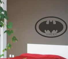 Vinyl lettering is the hottest new trend in home decor today.  With vinyl wall decals and vinyl lettering you can design exactly what you want for your child's room to fit their individual personality and style!
