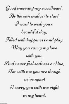 Looking for romantic good morning poems for him to compliments him by a beautiful poem and surprise your boyfriend or husband with this cute love lines. Love You Poems, Love Quotes For Her, Best Love Quotes, Love Yourself Quotes, Sweet Poems For Him, Good Morning Quotes For Him, Good Morning Love, Good Morning Messages, Beautiful Morning