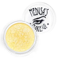 www.brokencherry.com #makeup #eyeshadow #yellow #mineral #looseeyeshadow #vegan #madeinUSA #crueltyfree  Eye Dust - Lemonade  $7.00