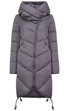 Стеганое пальто на искусственном пуху