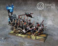 Corpse Cart #whfb #warhammer #vc #undead #aos #ageofsigmar #gamesworkshop #wellofeterntiy #awakenrealms #miniatures #hobby #wargaming #propainted #zombie