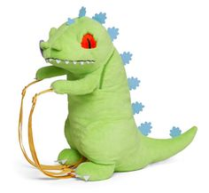 'Rugrats' Reptar Is A Plush Backpack Supreme