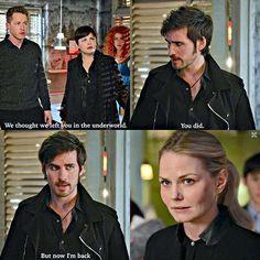 Colin O'Donoghue - Killian Jones -Captain Hook - Jennifer Morrison - Emma Swan - Once Upon A Time 5x22