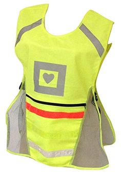 Reflective Vest for High Visibility Running & Biking by Glow Portal - the Most Comfortable Convenient Safety Gear with Huge Pocket for Phone Wallet Keys - Breathable Mesh Multicolor Stripes & Adjustable Fits Men Women Kids - Be Safe & Look Great Now! Glow Portal http://www.amazon.com/dp/B015DFKB14/ref=cm_sw_r_pi_dp_PLaawb0YBCCCJ