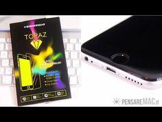 Il miglior vetro proteggi display per iPhone 6 e 6s - Topaz di Winner Gear