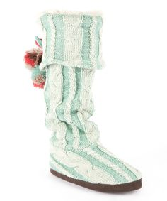 Love this MUK LUKS Vanilla & Wintergreen Anika Slipper Boot - Women by MUK LUKS on #zulily! #zulilyfinds