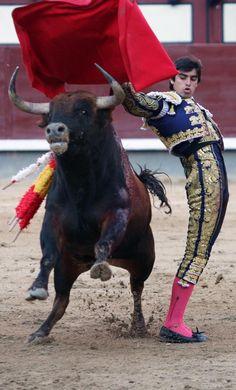 Pase Cambiado del torero Miguel Ángel Perera