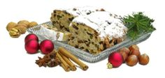 Old fashioned Christmas stollen