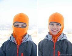 Make your own Balaclava (or ski-type mask)