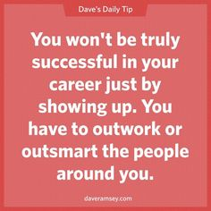 "Successful entrepreneurs choose to be great.""You won't be truly successful in your career just by showing up. You have to outwork or outsmart the people around you. Work Quotes, Success Quotes, Quotes To Live By, Life Quotes, Attitude Quotes, Quotable Quotes, Motivational Quotes, Funny Quotes, Inspirational Quotes"