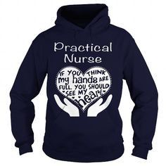 PRACTICAL NURSE FULL OF LOVE T Shirts, Hoodies. Check Price ==► https://www.sunfrog.com/LifeStyle/PRACTICAL-NURSE--FULL-OF-LOVE-Navy-Blue-Hoodie.html?41382