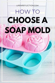 These are the steps I take to choose a soap mold for each soap recipe. Soap Making Recipes, Homemade Soap Recipes, Diy Beauty Tutorials, Soap Supplies, Homemade Lip Balm, Luxury Soap, Best Soap, Soap Molds, Home Made Soap