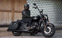 Lataa kuva Intiaanipäällikkö Musta Hevonen, 2018 polkupyörää, superbike, biker, Indian Chief