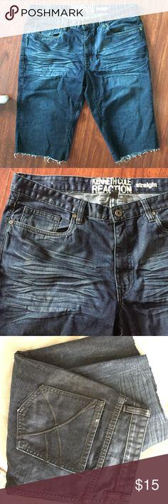 Kenneth Cole denim shorts ✨ 34/32  straight Kenneth Cole denim shorts ✨ 34/32  straight Kenneth Cole Reaction Shorts Jean Shorts