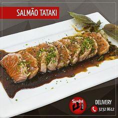 Se você ainda não conhece este prato aproveite para experimentá-lo aqui no Sushi Yama. Temos todo um cuidado especial ao preparar nossos pratos trazendo todo o sabor da culinária japonesa para você!  Salmão Tataki: salmão levemente grelhado com gergelim molho especial de shoyu limão saquê gengibre e cebolinha.  #SushiYama #sushilovers #sushi #sashimi #salmão #tataki #floripa #deliveryfloripa #lagoadaconceicao by sushiyamafloripa