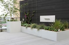 roof terrace water feature - Google Search