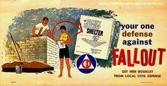 "danismm:  ""FALLOUT Shelter, Civil Defense Art Gallery 1950s  """