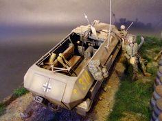 """Sabotage"" 1/35 Scale Model Diorama"