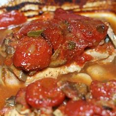 Pork Chops with Stewed Tomatoes - Allrecipes.com