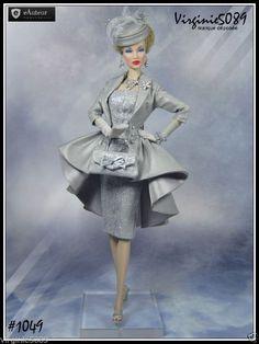 Barbie Fashion Royalty, Fashion Dolls, Fashion Dresses, Barbie Style, Barbie Gowns, Barbie Clothes, Vintage Dresses, Nice Dresses, Barbie Bridal