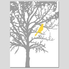 Hey, I found this really awesome Etsy listing at http://www.etsy.com/listing/112301519/bird-in-a-tree-13x19-large-scale-print