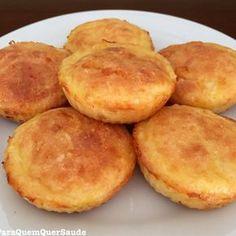 Pão de queijo sem lactose e low carb ‼️Como não amar pão de queijo? Essa receita eu peguei no YouTube, no canal da Camila Armindo. O…