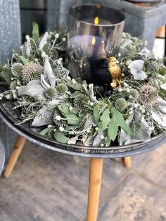 Woodland Christmas, Cozy Christmas, Christmas Crafts, Christmas Decorations, Plant Crafts, Diy Crafts, Flower Factory, Christmas Living Rooms, Xmas Wreaths