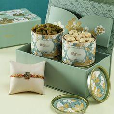 Send Rakhi with Dry Fruit Gift Hamper Rakhi with Dry Fruit Gift Box Hamper Fruit Packaging, Bakery Packaging, Cookie Packaging, Diwali Gift Box, Diwali Gifts, Eid Gift, Indian Wedding Favors, Unique Wedding Favors, Hamper Boxes