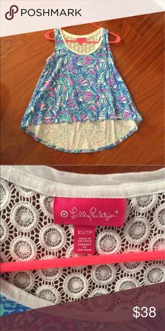 Lilly for Target My Fans Swing Tank Brand New, Never Worn. Still have the tags but they're unattached. (Cross posted) Lilly Pulitzer for Target Tops