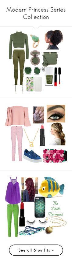 """""""Modern Princess Series Collection"""" by thegirlwithglasses1354 ❤ liked on Polyvore featuring Puma, WearAll, Valentino, BERRICLE, Giorgio Armani, The Hand & Foot Spa, modern, modernprincessseries, Topshop and Current/Elliott"""