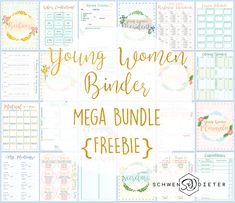 We're so excited to drop this {FREEBIE}! A Young Women Presidency has a lot on their plate. Hopefully this totally free bundle can help you keep track of what's important! From bishopric interview. - May 10 2019 at Youth Group Gifts, Youth Group Activities, Young Women Activities, Young Women Lessons, Personal Progress, Women In Leadership, Drop, Track, Interview