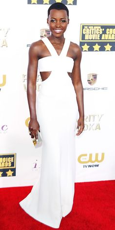 4304150e57b Awards Show Style  Top Red Carpet Looks from the 2014 Oscar Nominees -  Lupita Nyong