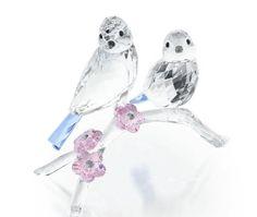 5004727 Blue Tits, Birds Crystal Figurine Swarovski for Collectors MIB
