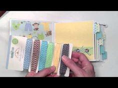 Doodlebug Baby Boy Mini Album