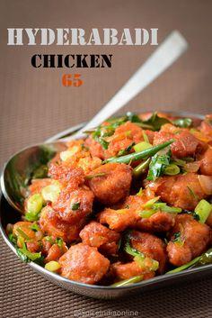 Hyderabad Chicken 65
