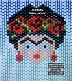 Hama Beads, Seed Beads, Beading Projects, Brick Stitch, Cross Stitch Embroidery, Beadwork, My Design, Tapestry, Scrapbook