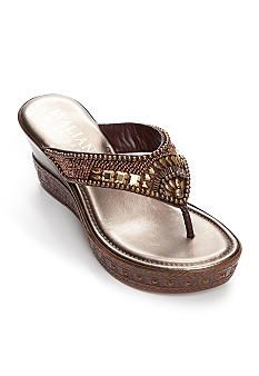 Italian shoemakers floral womens casual sandals