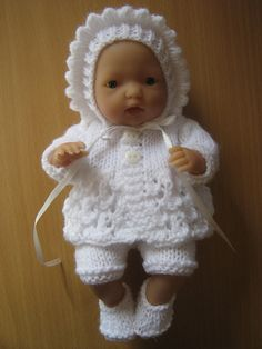 Hand Knitted Traditional Vintage Style by DesignerDollsClothes, £10.00