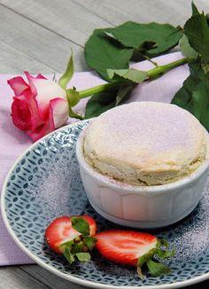 szczypta smaQ: Suflet mirabelkowy z crème pâtissière
