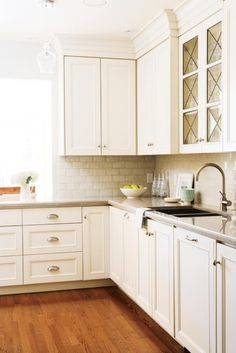 if backsplash is white, i like the texture of this tile.