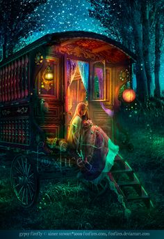 Magic & the secrets of Robin's past are waiting for her inside Granny Tinker's gypsy wagon...