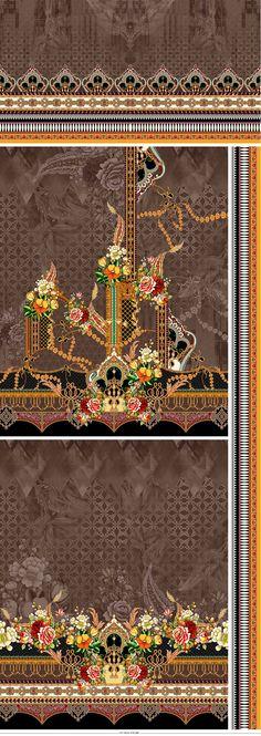 Textile Patterns, Textile Design, Textiles, Islamic Art Pattern, Pattern Art, Fashion Design Drawings, Design Seeds, Album Design, Presentation Design