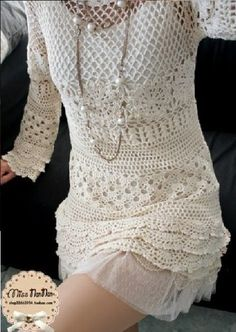 crochet video tutorials and patterns: crochet dress chart pattern diagrams