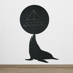 This Sea lion wall decals is playfull and original: perfect for a child bedroom.
