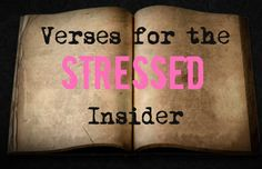 7 Verses for the Stressed
