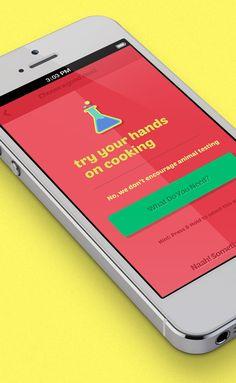 Do Something Good App by Shadman Ahmed, via Behance