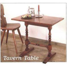 Tavern Table Plan